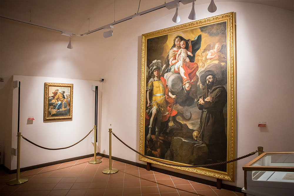 Madonna degli angeli - Mattia Preti