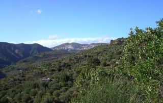 Vista panoramica di Sersale