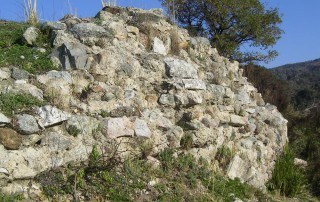 Rovine della leggendaria città di Barbaro