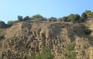 Pareti del Canyon Valli Cupe