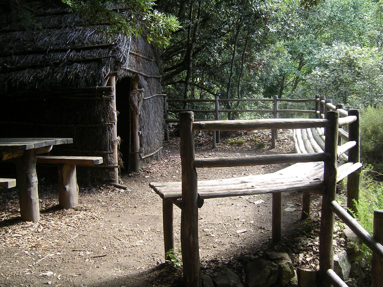 Pagliaro lungo il sentiero Cascata del Campanaro
