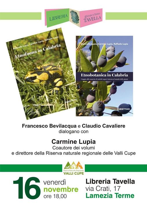 Presentazione delle due pubblicazioni della Riserva Valli Cupe
