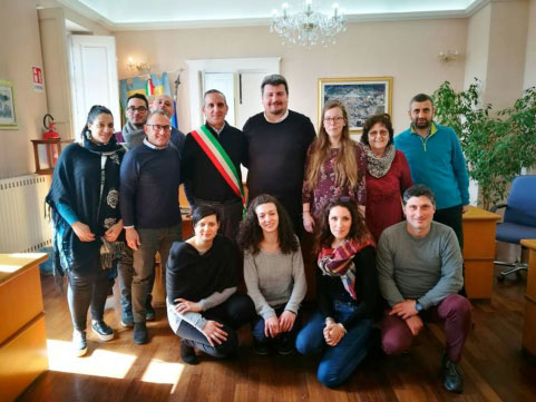 Incontro per il progetto Erasmus a Sersale