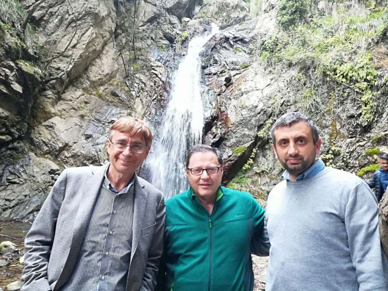 Giampiero Sammuri, presidente di Federparchi, in visita presso la Riserva delle Valli Cupe