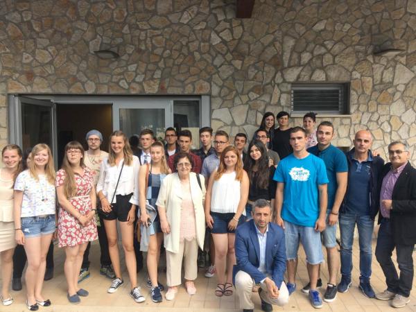 """Incontro con i ragazzi del progetto """"Erasmus +"""""""