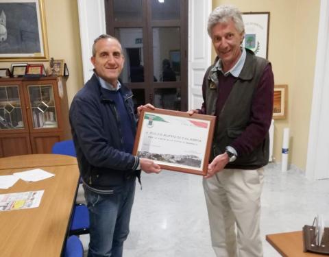Il Principe Fulco Ruffo di Calabria in visita alla Riserva Naturale Valli Cupe