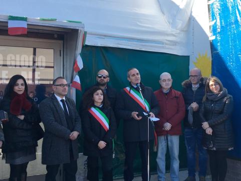 Inaugurazione dell'impianto sportivo polivalente di Sersale